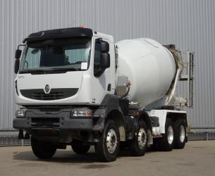 Renault Kerax 370 DCI 8x4 - Stetter 9m3 Betonmixer, Concretemixer, Betonmischer TT 3989