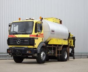 Mercedes-Benz SK 2024 10 m3 Teerwagen, Tar Truck, Asphaltspritze - 6 Cilinder 240 PK TT 3993