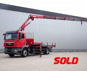 MAN TGM 18.290 EEV 12 TM MKG Kraan, Crane, Kran - EEV TT 3998