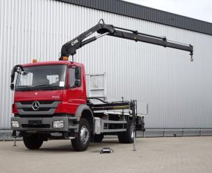 Mercedes-Benz Axor 1829 14TM Hiab Kraan, Crane, Kran TT 4000