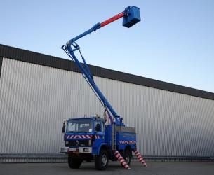 Renault M180 4x4 -17 mtr. Hoogwerker, Platform, Arbeitsbuhne - 30.000 Volt TT 4020