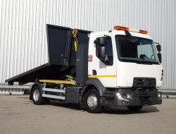 Renault D10.240 7T. Haakarm, Hooklift, Abrollkipper - E6 TT 4025