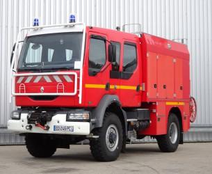 Renault Midlum 220 DCI 4x4-Feuerwehr, Fire - Doppelcabine - 3.000 ltr watertank - 200 ltr Foam TT 4029