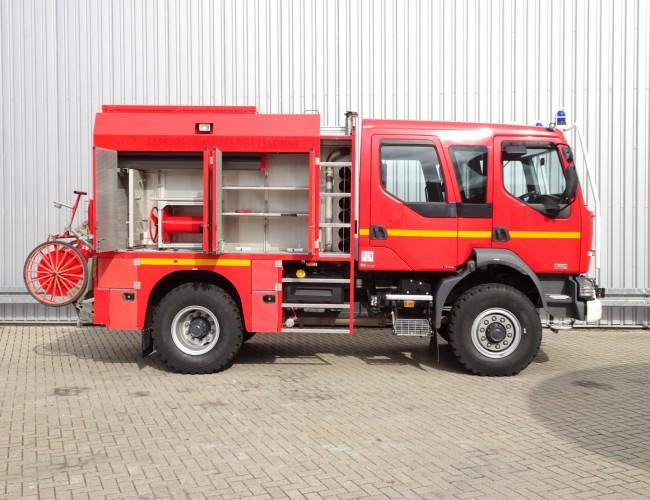 Renault Midlum 220 dci 4x4 Doppelcabine - 3.000 ltr watertank - 200 ltr Foam - Feuerwehr, Fire brigade TT 4029