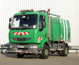 Renault Midlum CNG Sproeiwagen, Sprühen, Spray - Water, Wasser - Defect TT 4030