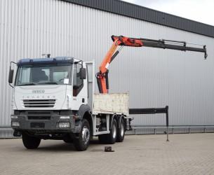 Iveco Trakker 350 6x4 Palfinger 15TM kraan, Crane, Kran TT 4031