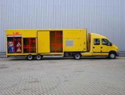 Renault Mascott 150-35 T BE combi - 2 assige Kuiper oplegger - Double Cabin - LOW KM! TT 4035