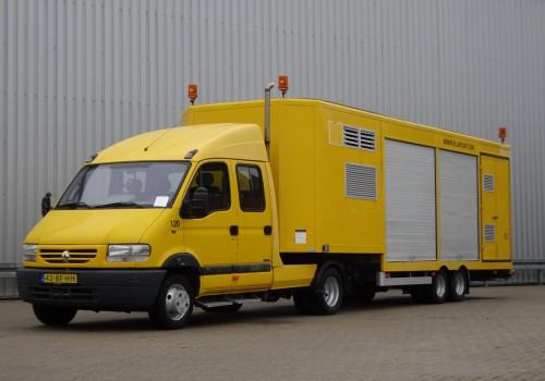 Renault Mascott 150-35 T BE combi - 2 assige Kuiper oplegger - Double Cabin - LOW KM! TT 4036