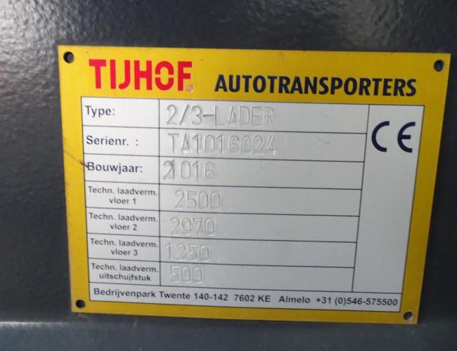 Iveco Euro Cargo 120-250 Thijhof 2-3 lader, Twin deck, Doppelstock - Lier, Winch, Winde TT 4043