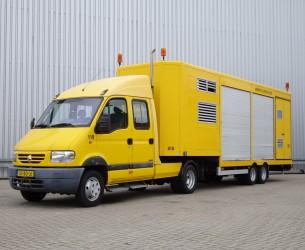 Renault Mascott 150-35 T BE combi - 2 assige Kuiper oplegger - Double Cabin TT 4050