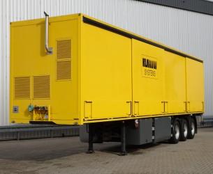E.S.V.E. TA 12 Nieuwstaat!! Special Trailer, 2 assen gestuurd, steeringaxle, lenkachse TT 4052