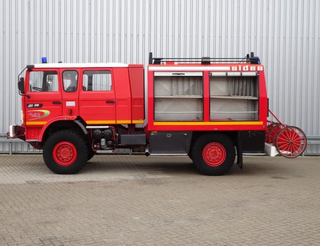 Renault M 210 Midliner 4x4 - SIDES 40 BCA3 - feuerwehr - fire brigade - brandweer - 4.000 ltr water tank TT 4056