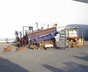 American Augers DD-6 30 ton, Machine - Pullback + Mission Fluid King pomp TT 4059