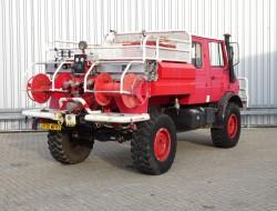 Unimog U 1550 L 4x4 Unimog U1550 L (437) Mercedes Benz, Doppelkabine, SIDES CCF2000 ltr. - Expeditievoertuig, Camper TT 4063