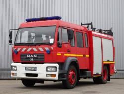 MAN L75 14.280 Doppelcabine - 3.000 ltr watertank - Feuerwehr, Fire brigade TT 4065