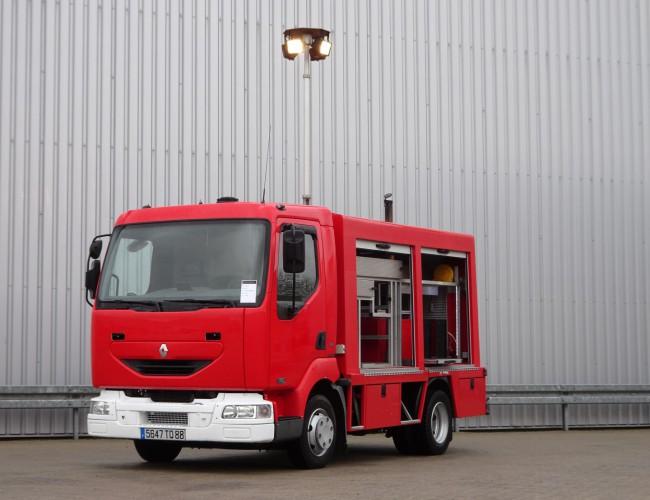 Renault Midlum 150 Calamiteiten truck, Rescue-Vehicle -17 KVA-400V Electricity aggregate, Elektrizitat Aggregat, TT 4068