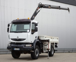 Renault Midlum 220 dci 4x4 HIAB Kraan, Crane, Kran TT 4070