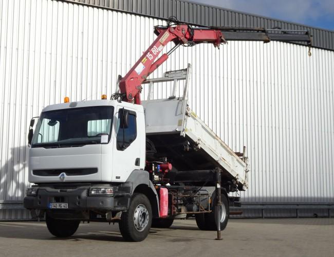 Renault Kerax 320 DCI HMF 15TM Kraan, Crane, Kran TT 4081