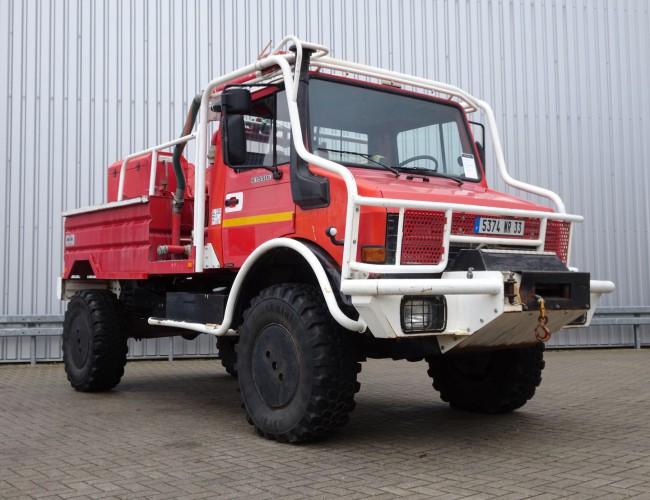 Mercedes-Benz Unimog 1550L37 4x4 Unimog U1550 L (437) Mercedes Benz, SIDES CCF2000 ltr. - Expeditievoertuig, Camper TT 4084