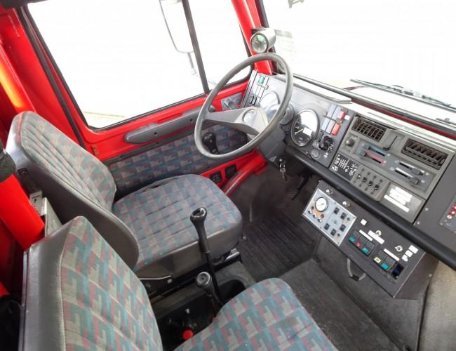 Mercedes-Benz Unimog 1550L37 4x4 Unimog U1550 L (437) Mercedes Benz,  SIDES CCF2000 ltr. - Expeditievoertuig, Camper TT 4085