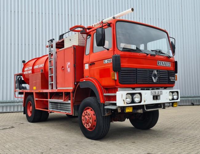 Renault G290 4x4 -Watertank, L'eau, Wasser 10.000 ltr. - Tankwagen - Spuit, Spray, Spritze TT 4086