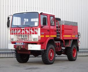 Renault 110 170 4x4 feuerwehr - fire brigade - brandweer - water tank - Camper - Expeditie TT 4089