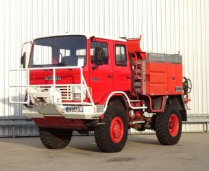 Renault 110 150 4x4 - Sides CCF 3000 ltr. - feuerwehr - fire brigade - brandweer - Lier, Winch, Winde - Expeditie TT 4090