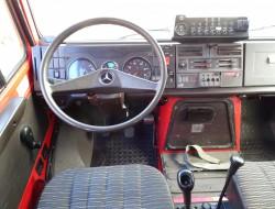 Mercedes-Benz Unimog 1550L 4x4 Unimog U1550 L (437) Mercedes Benz, Doppelkabine, SIDES CCF2000 ltr. - Expeditievoertuig, Camper TT 4091
