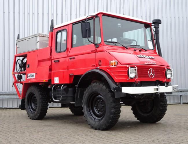 Mercedes-Benz Unimog U 650 L (407) 4x4 Unimog / Mercedes Benz, Doppelkabine, - Expeditievoertuig, Camper TT 4092