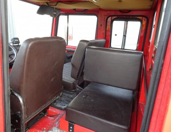 Unimog U 1550 L32 4x4 Unimog U1550 L (320) Mercedes Benz, SIDES CCF2000 ltr. - Expeditievoertuig, Camper TT 4093