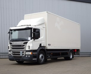 Scania P250 E6 2T. DHollandia laadklep, Ladebord, Loadlift - LBW - Clima TT 4096