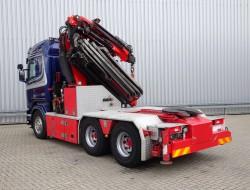 Scania R 490 6x4 Fassi 60TM Kraan, Crane, Kran + Fly Jib TT 4097