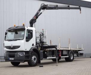 Renault Premium Lander 280.19 Hiab 111 HiDuo Kraan, Crane, Kran - Euro 5 TT 4100
