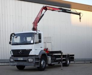 Mercedes-Benz Axor 1829 Fassi 11 TM Kraan, Crane, Kran TT 4101