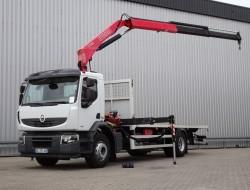 Renault 270 DXI Premium Lander 15 TM Kraan, Crane, Kran, Grue - Manuel - Euro 5 TT 4102