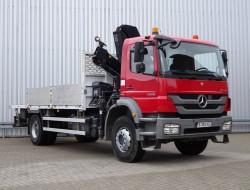 Mercedes-Benz Axor 1829 Hiab 14TM Kraan, Crane, Kran - Remote control - Euro 5 TT 4112