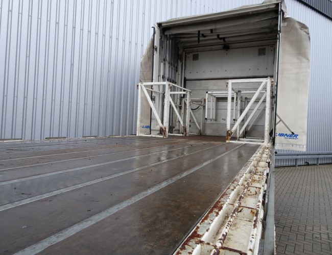 DAF FAN CF85.360 6x2 HMF 14TM Kraan, Crane, Kran - Schuifkap, Slide Hood, Schiebehaube - Ladebord TT 4117
