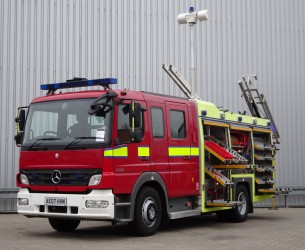 Mercedes-Benz Atego 1325 RHD - Crewcab, Doppelcabine - 1.400 ltr watertank - Feuerwehr, Fire brigade, More in Stock!! TT 4120