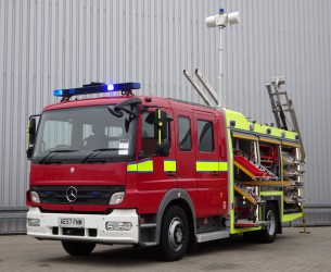 Mercedes-Benz Atego 1325 RHD - Crewcab, Doppelcabine - 1.400 ltr watertank - Feuerwehr, Fire brigade, More in Stock!! TT 4121