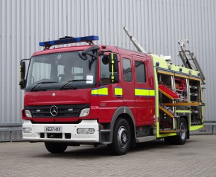 Mercedes-Benz Atego 1325 RHD - Crewcab, Doppelcabine - 1.400 ltr watertank - Feuerwehr, Fire brigade, More in Stock!! TT 4123