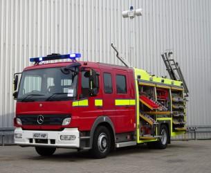 Mercedes-Benz Atego 1324 RHD - Crewcab, Doppelcabine - 1.700 ltr watertank - Feuerwehr, Fire brigade, More in Stock!! TT 4124