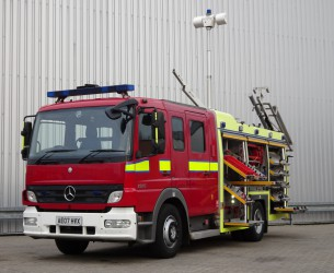 Mercedes-Benz Atego 1324 RHD - Crewcab, Doppelcabine - 1.700 ltr watertank - Feuerwehr, Fire brigade, More in Stock!! TT 4125