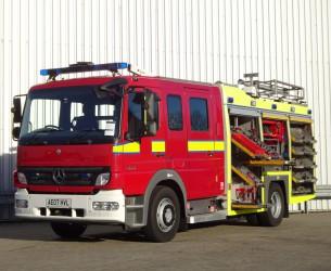 Mercedes-Benz Atego 1325 RHD - Crewcab, Doppelcabine - 1.700 ltr watertank - Feuerwehr, Fire brigade, More in Stock!! TT 4126