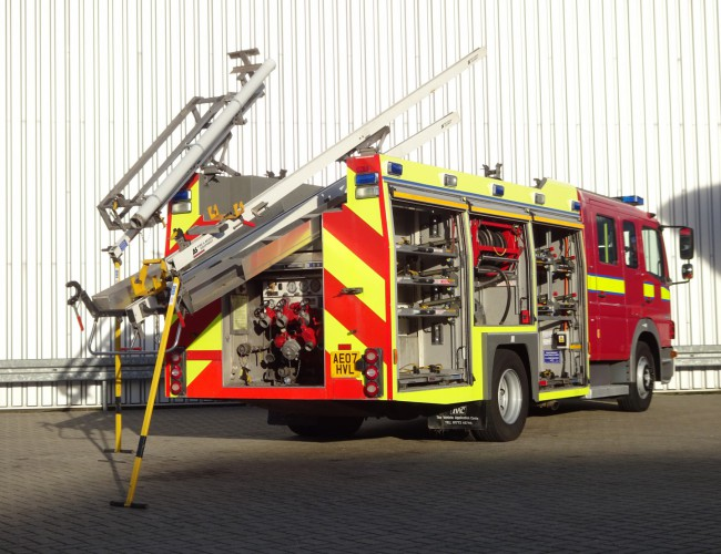 Mercedes-Benz Atego 1325 RHD - Crewcab, Doppelcabine - 1.700 ltr watertank - Feuerwehr, Fire brigade, More in Stock!! TT 4126