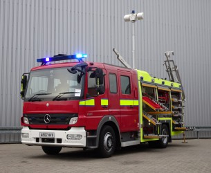 Mercedes-Benz Atego 1325 RHD - Crewcab, Doppelcabine - 1.400 ltr watertank - Feuerwehr, Fire brigade, More in Stock!! TT 4127