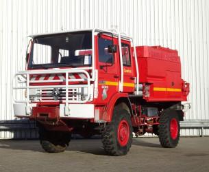 Renault 110 170 4x4 - 4.000 ltr watertank - feuerwehr - fire brigade - brandweer - Lier, Winch, Winde - Expeditie - TT 4132
