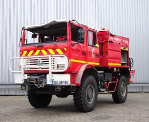Renault M 210 Midliner 4x4 fire brigade - brandweer - watertank 3500 - Ongeval, Unfall, Accident!! TT 4133