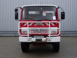 Renault Midliner M150 4x4 - 2.000 ltr watertank - feuerwehr - fire brigade - brandweer - Lier, Winch, Winde - Expeditie - Camper TT 4134