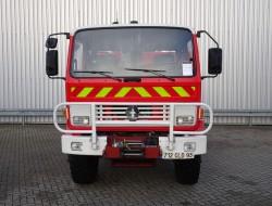 Renault Midliner M210 4x4 - 3.500 ltr watertank - feuerwehr - fire brigade - brandweer - Lier, Winch, Winde - Expeditie - Camper TT 4135