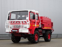 Renault 85 150 4x4 - 2.000 ltr watertank - feuerwehr - fire brigade - brandweer - Lier, Winch, Winde - Expeditie - TT 4137